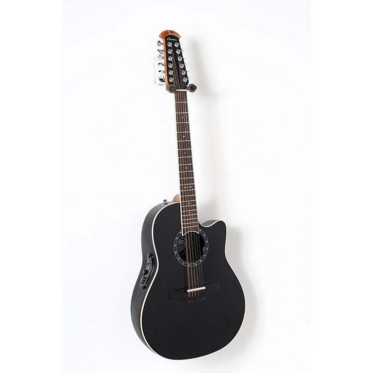 OvationStandard Balladeer 2751 AX 12-String Acoustic-Electric GuitarBlack888365911007