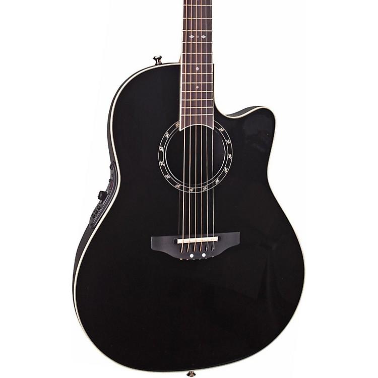 OvationStandard Balladeer 2771 AX Acoustic-Electric GuitarBlack