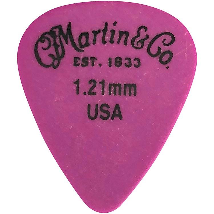 MartinStandard Delrin Guitar PickPurple 1.21mm72 Pieces