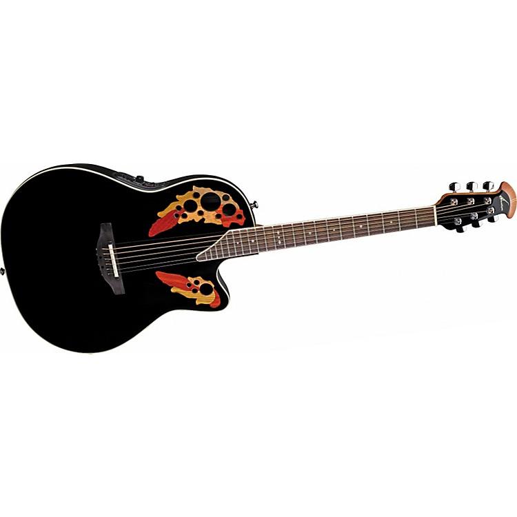 OvationStandard Elite 6868 AX Acoustic-Electric GuitarBlack