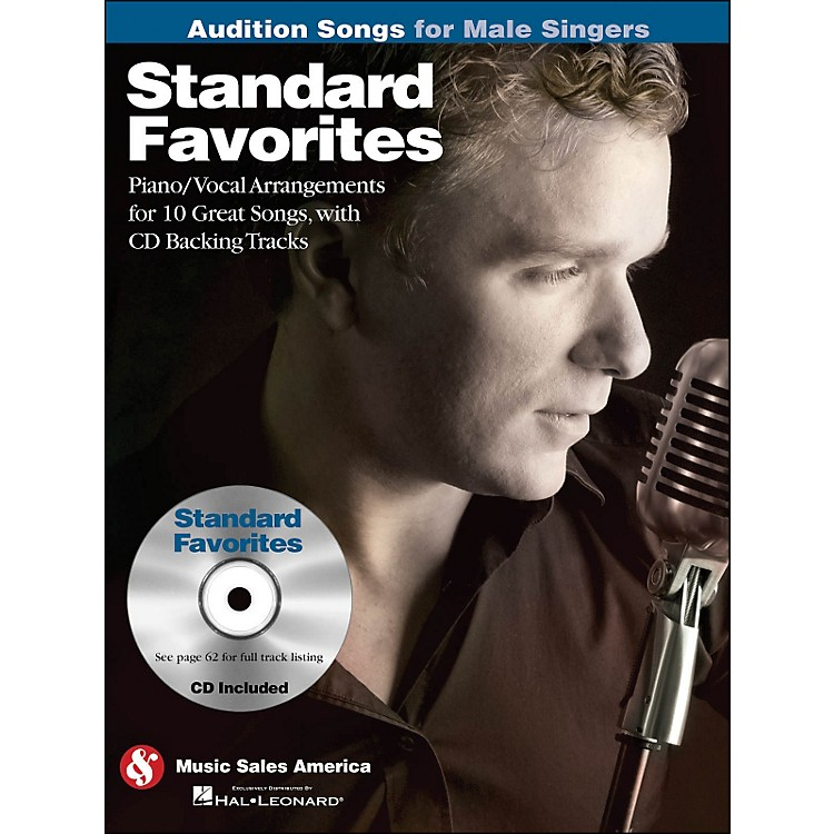 Hal LeonardStandard Favorites - Audition Songs for Male Singers Book/CD