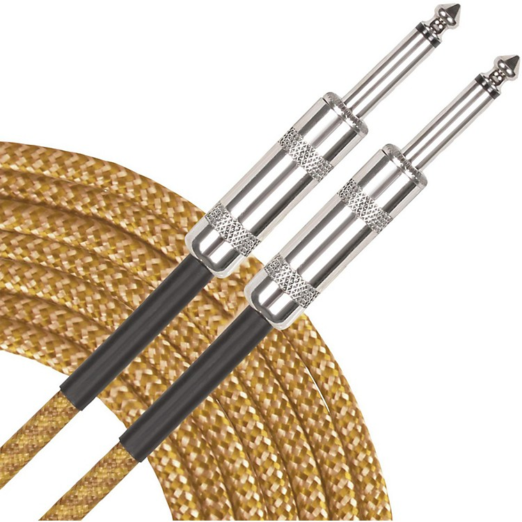 Musician's GearStandard Instrument Cable Tweed20 ft.Gold