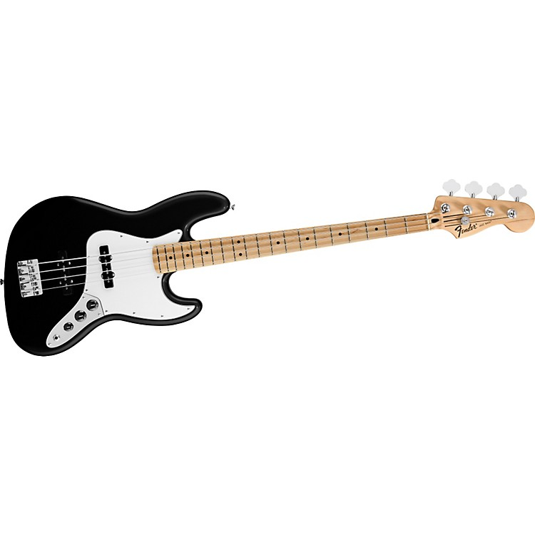 Fender Standard Jazz Bass Black Maple Fretboard