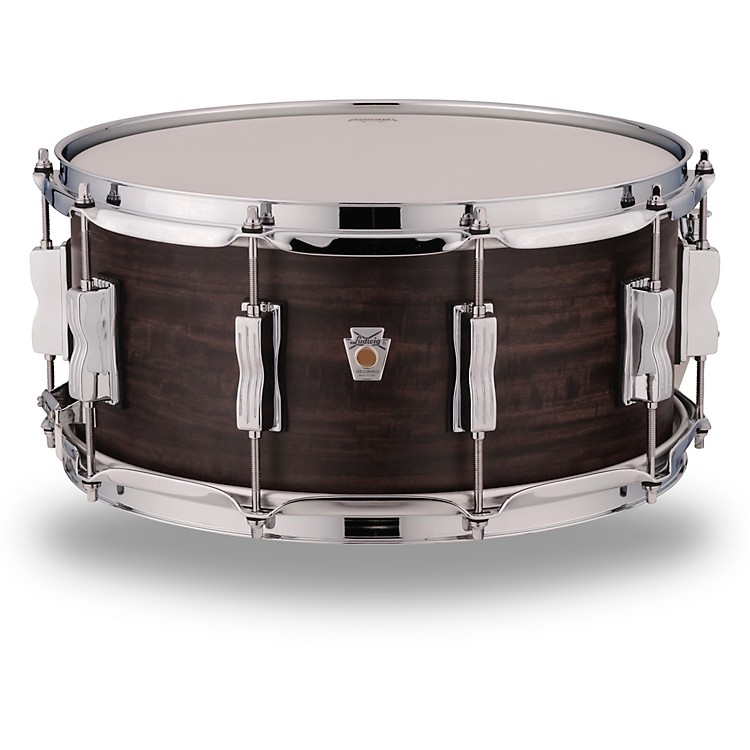 LudwigStandard Maple Snare Drum with Aged Ebony Stain14 x 8 in.