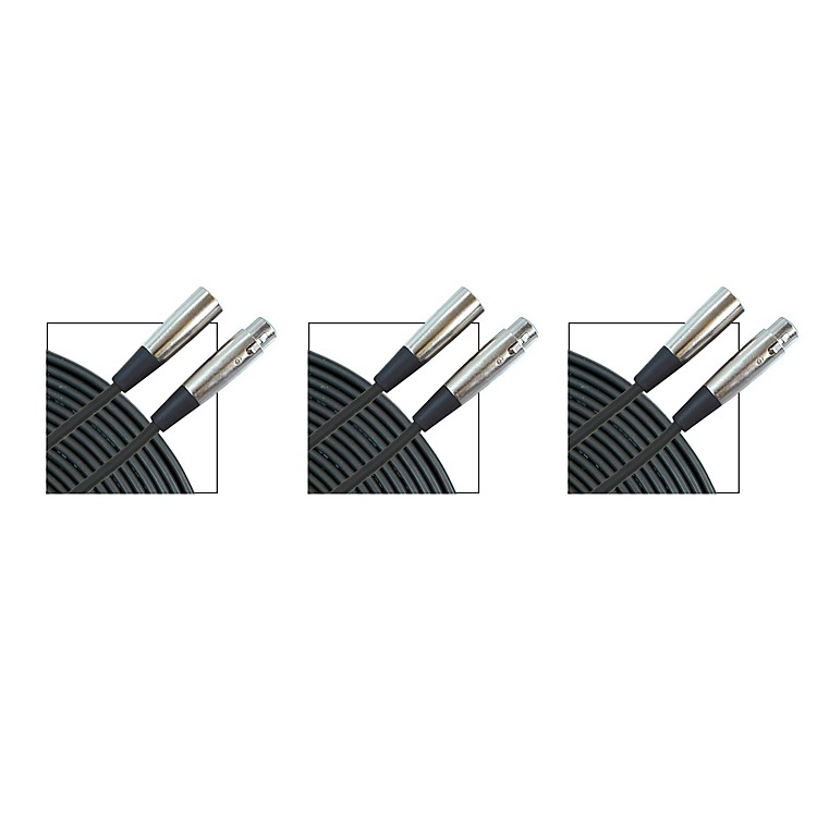 Musician's GearStandard Microphone Cable - 20 ft. - 3 Pack