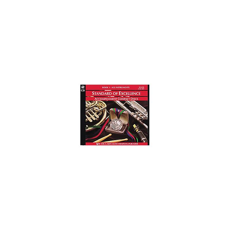 KJOSStandard Of Excellence Book 1 Accompaniment CD (2-CD Set)