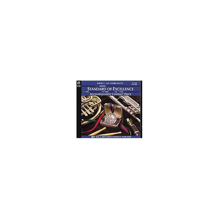KJOSStandard Of Excellence Book 2 Accompaniment 2-CD Set