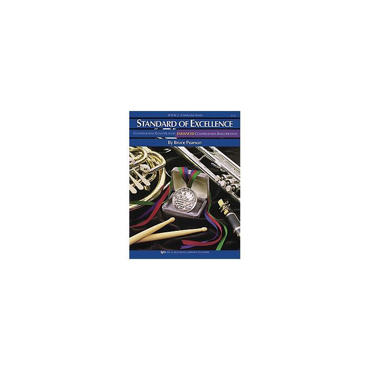 KJOSStandard Of Excellence Book 2 Conductor Score