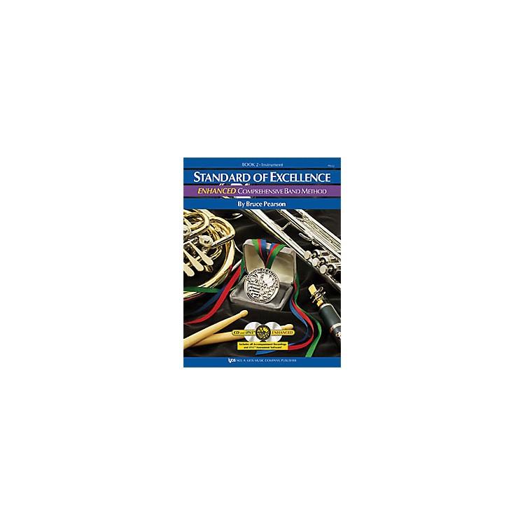 KJOSStandard Of Excellence Book 2 Enhanced Percussion