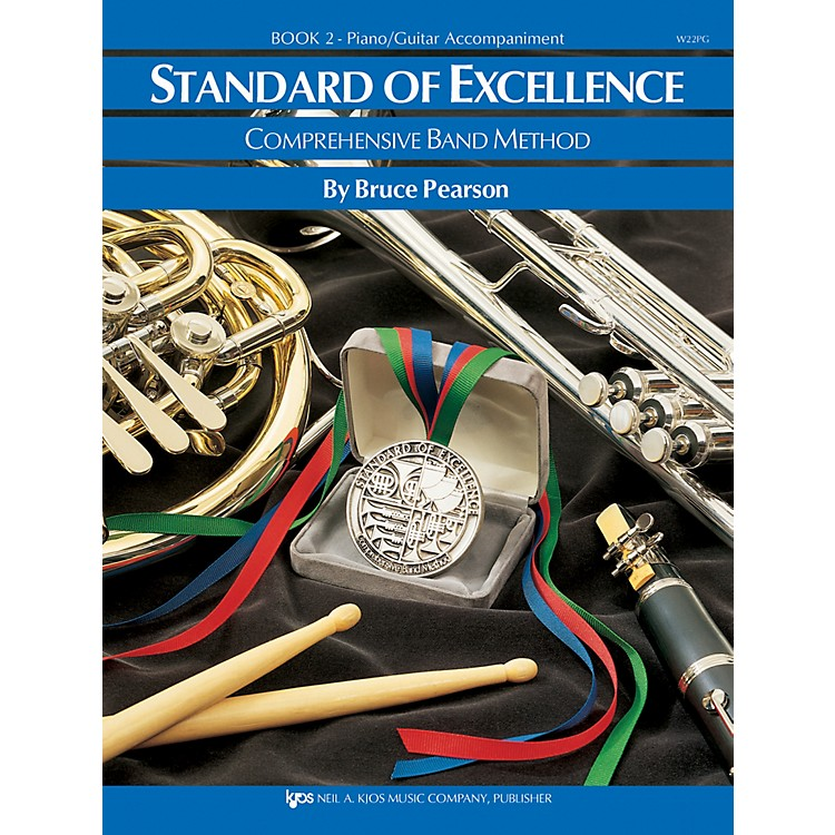 KJOSStandard Of Excellence Book 2 Enhanced Piano/Guitar Accomp