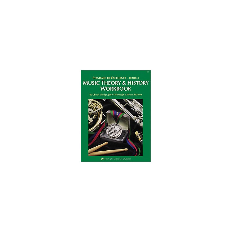 KJOSStandard Of Excellence Book 3 Theory & History Student Edition