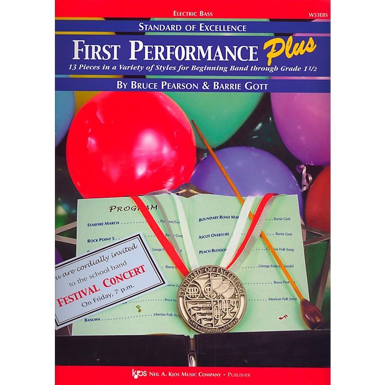 KJOSStandard Of Excellence First Performance Plus-ELECTRIC BASS