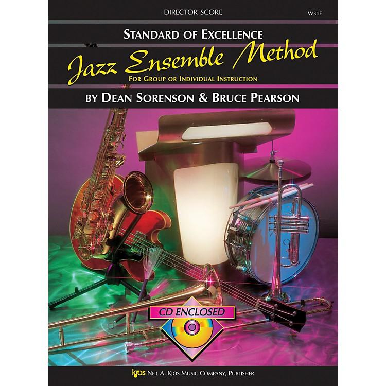 KJOSStandard Of Excellence for Jazz Ensemble Conductor Score