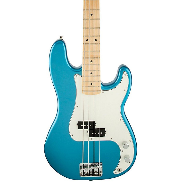 Fender Standard Precision Bass Guitar Lake Placid Blue Rosewood Fretboard