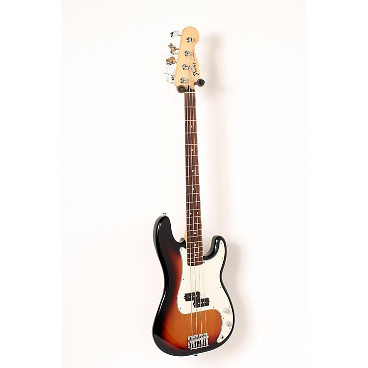 Fender Standard Precision Bass Guitar Brown Sunburst, Rosewood Fretboard 888365906706