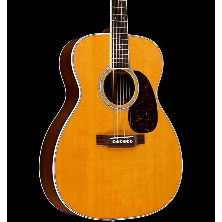 MartinStandard Series M-36 Slim Body Acoustic-Electric GuitarNaturalFishman Ellipse Matrix Blend Electronics