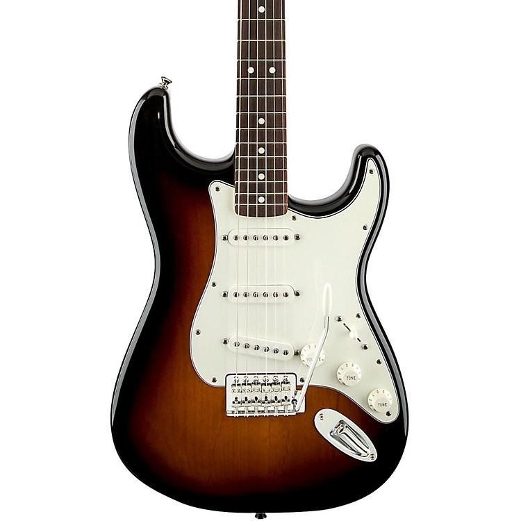 FenderStandard Stratocaster Electric Guitar with Rosewood FretboardBlackRosewood Fretboard
