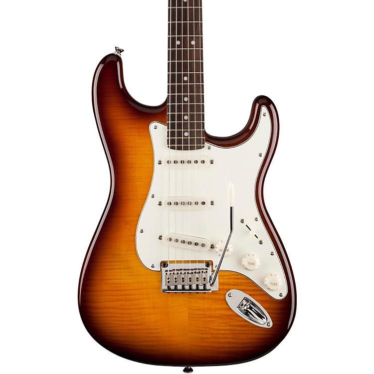 SquierStandard Stratocaster FMTTransparent Amber