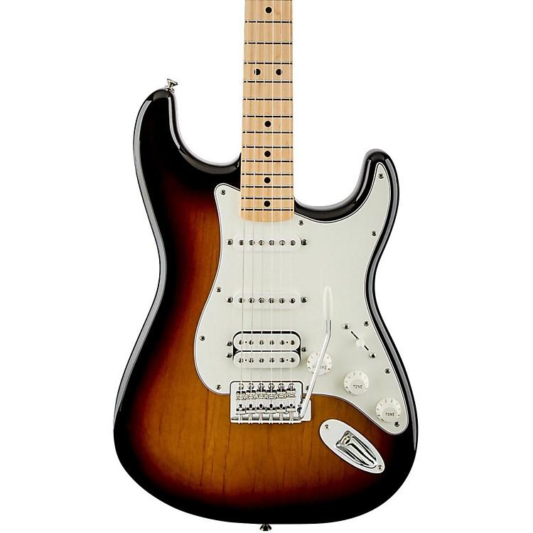 FenderStandard Stratocaster HSS Electric GuitarBrown SunburstGloss Maple Fretboard