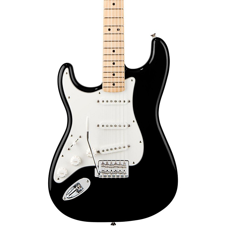 Fender Standard Stratocaster Left Handed  Electric Guitar Arctic White Gloss Maple Fretboard