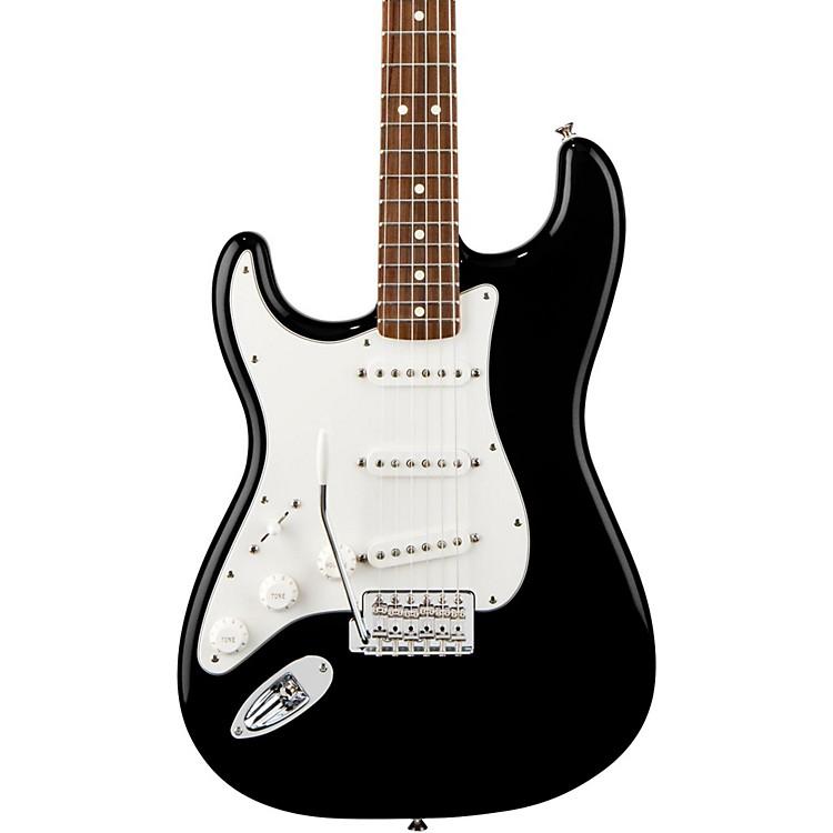 FenderStandard Stratocaster Left Handed  Electric GuitarBlackRosewood Fretboard