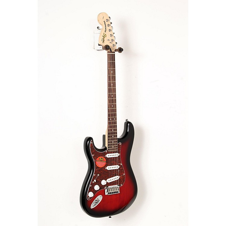 Squier Standard Stratocaster Left-Handed Electric Guitar Antique Burst 888365842912