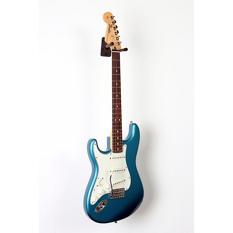 Fender Standard Stratocaster Left Handed  Electric Guitar Lake Placid Blue, Rosewood Fretboard 888365834214