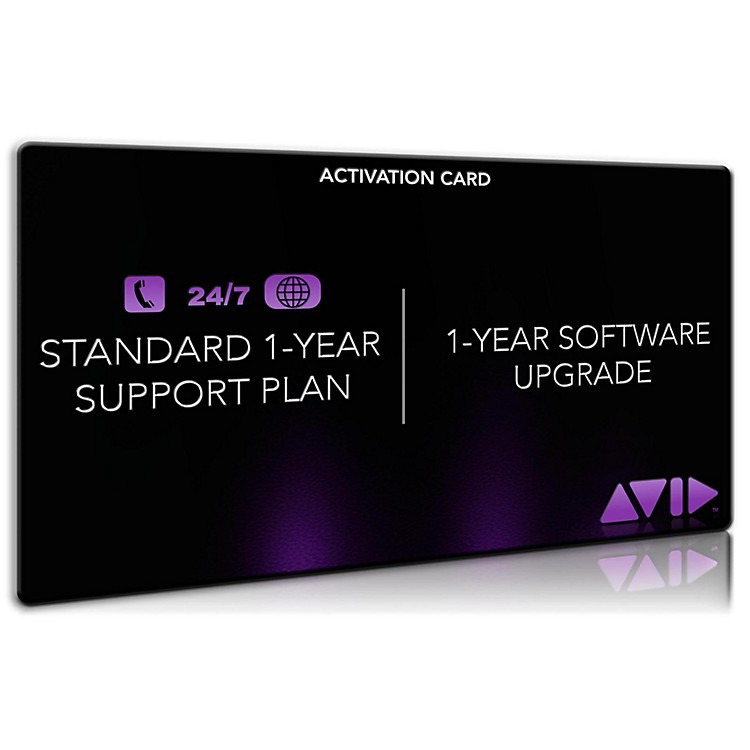Avid Standard Support for Pro Tools (1 Year) Activation Card