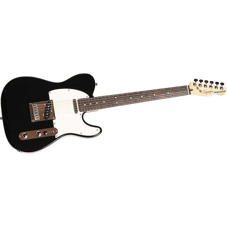SquierStandard Telecaster Electric GuitarBlack MetallicRosewood Fretboard