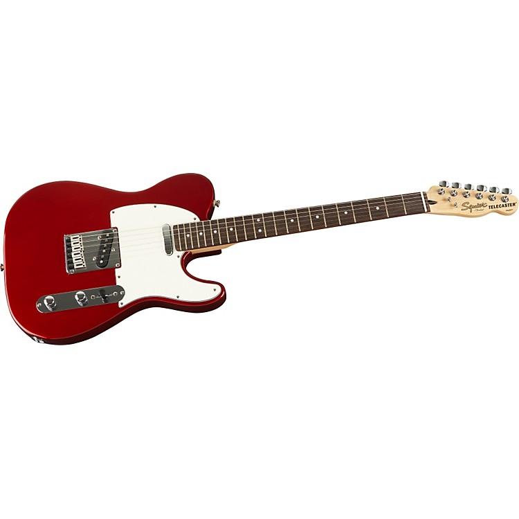 SquierStandard Telecaster Electric GuitarCandy Apple RedRosewood Fretboard
