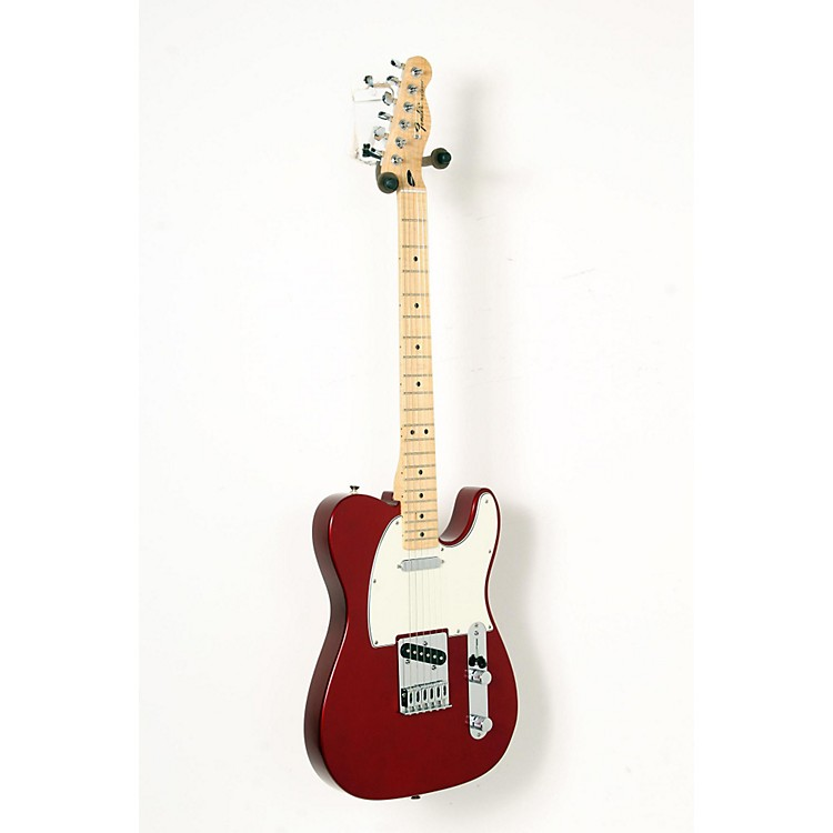 Fender Standard Telecaster Electric Guitar Candy Apple Red, Gloss Maple Fretboard 888365848327