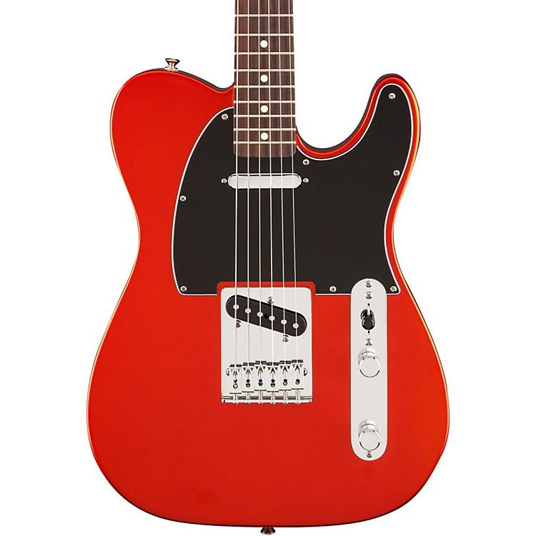 FenderStandard Telecaster Satin Electric GuitarFlame OrangeRosewood Fingerboard