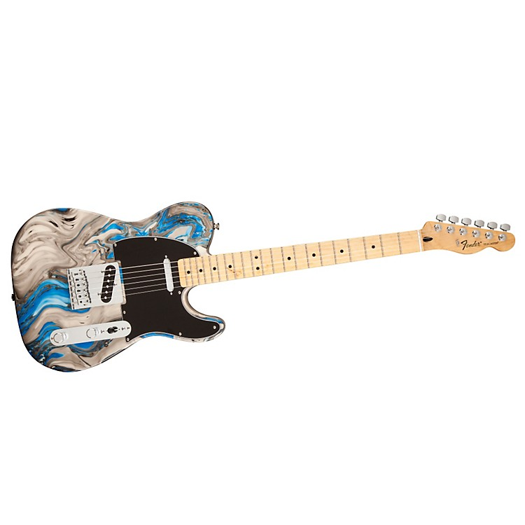 Fender Standard Telecaster Swirl with Maple Fingerboard Electric Guitar