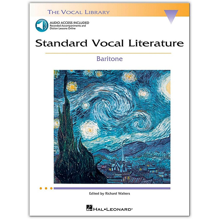 Hal LeonardStandard Vocal Literature - An Introduction To Repertriore for Baritone Book/2CD