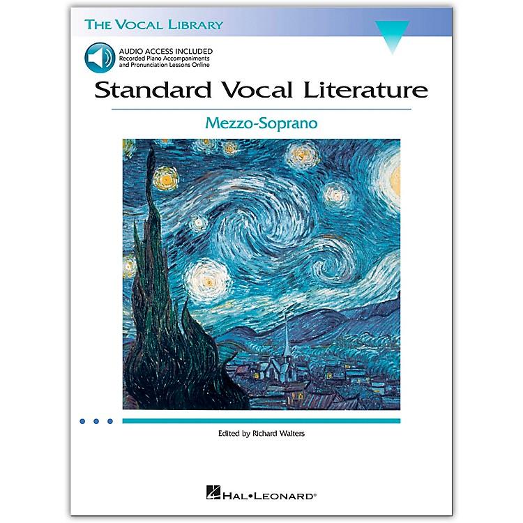 Hal LeonardStandard Vocal Literature - An Introduction To Repertriore for Mezzo Soprano (Book/Online Audio Access)