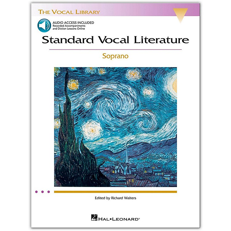 Hal LeonardStandard Vocal Literature - An Introduction To Repertriore for Soprano (Book/Online Audio)