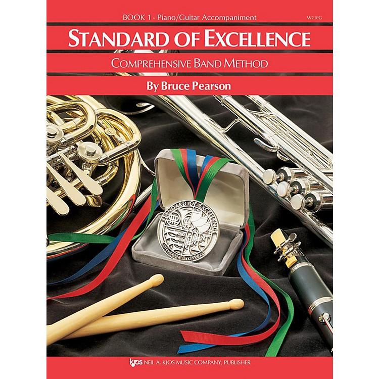 KJOSStandard of Excellence Book 1 Piano/Guitar