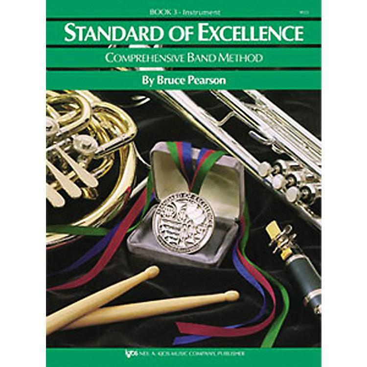 KJOSStandard of Excellence Book 3 bass clarinet