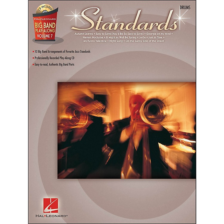 Hal Leonard Standards - Big Band Play-Along Vol. 7 Drums
