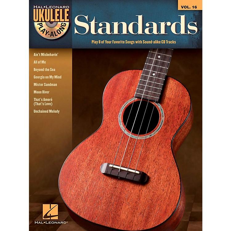 Hal LeonardStandards - Ukulele Play-Along Vol. 16 Book/CD
