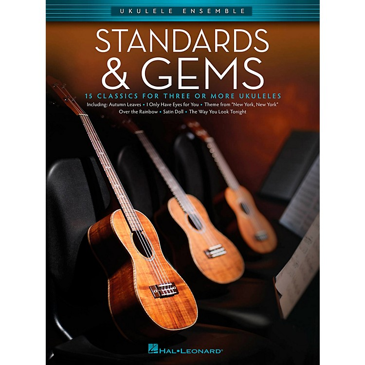 Hal Leonard Standards & Gems - Ukulele Ensemble Series Early Intermediate Songbook