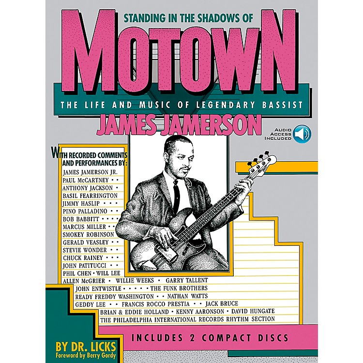 Hal Leonard Standing in the Shadows of Motown Book/CD