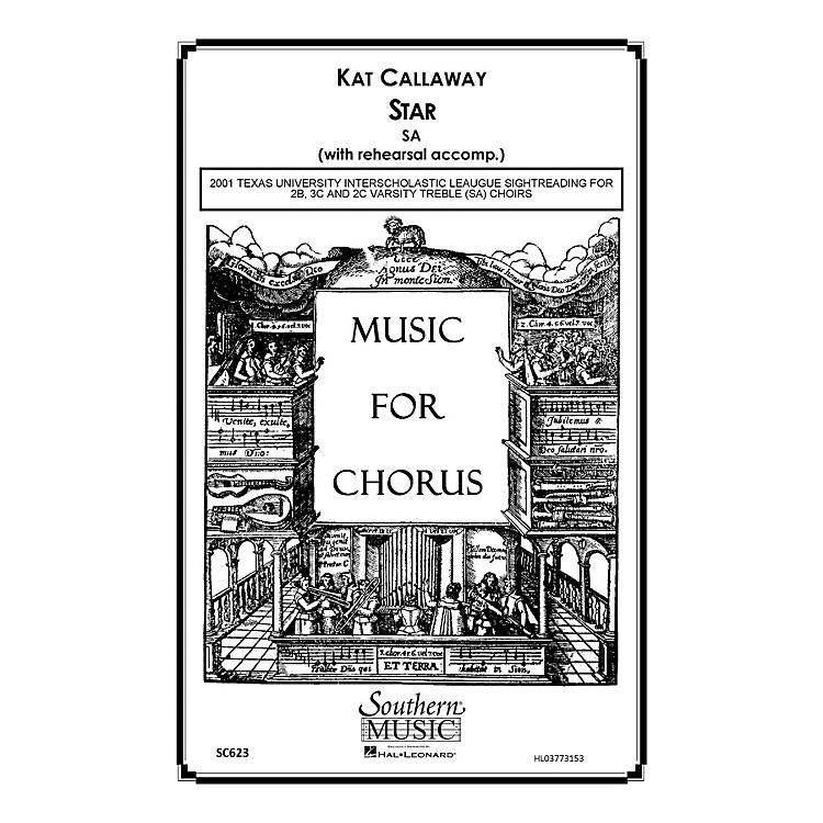 Hal LeonardStar (Choral Music/Octavo Sacred Sa) SA Composed by Callaway, Kat