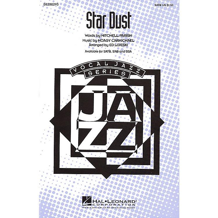Hal LeonardStar Dust SATB arranged by Ed Lojeski