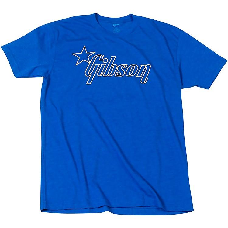 GibsonStar Logo T-ShirtMediumBlue