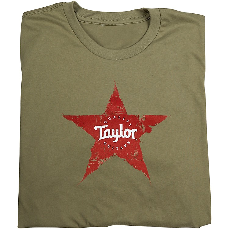 Taylor Star T-Shirt Light Olive Small