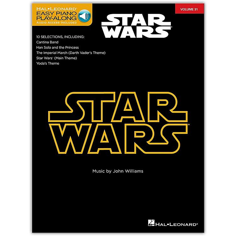 Hal LeonardStar Wars - Easy Piano Play-Along Volume 31 Book/Online Audio
