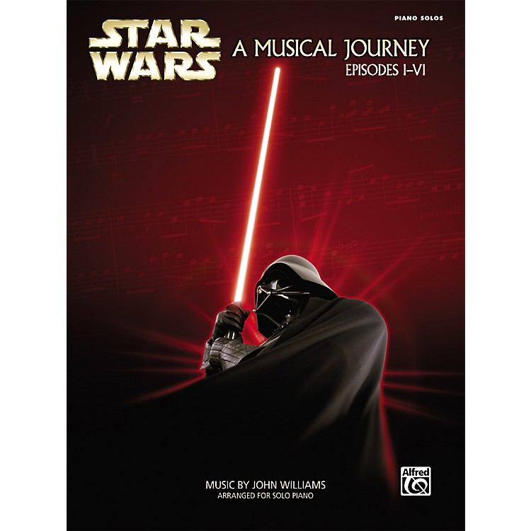 AlfredStar Wars A Musical Journey (Music from Episodes I - VI) Piano Solos