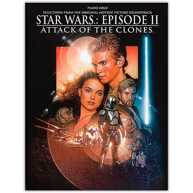 Alfred Star Wars  Episode II Attack of the Clones Piano Solo Songbook