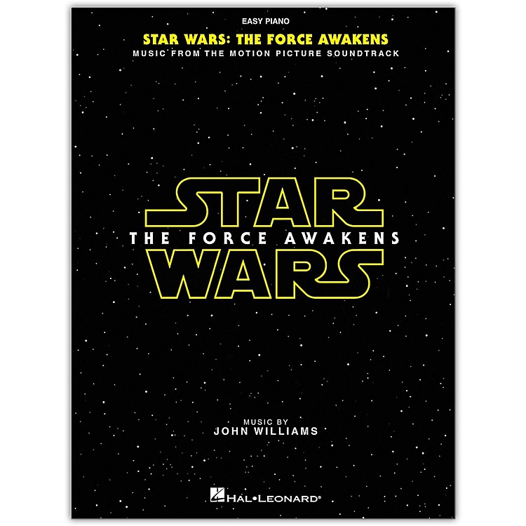 Hal Leonard Star Wars: Episode VII - The Force Awakens for Easy Piano